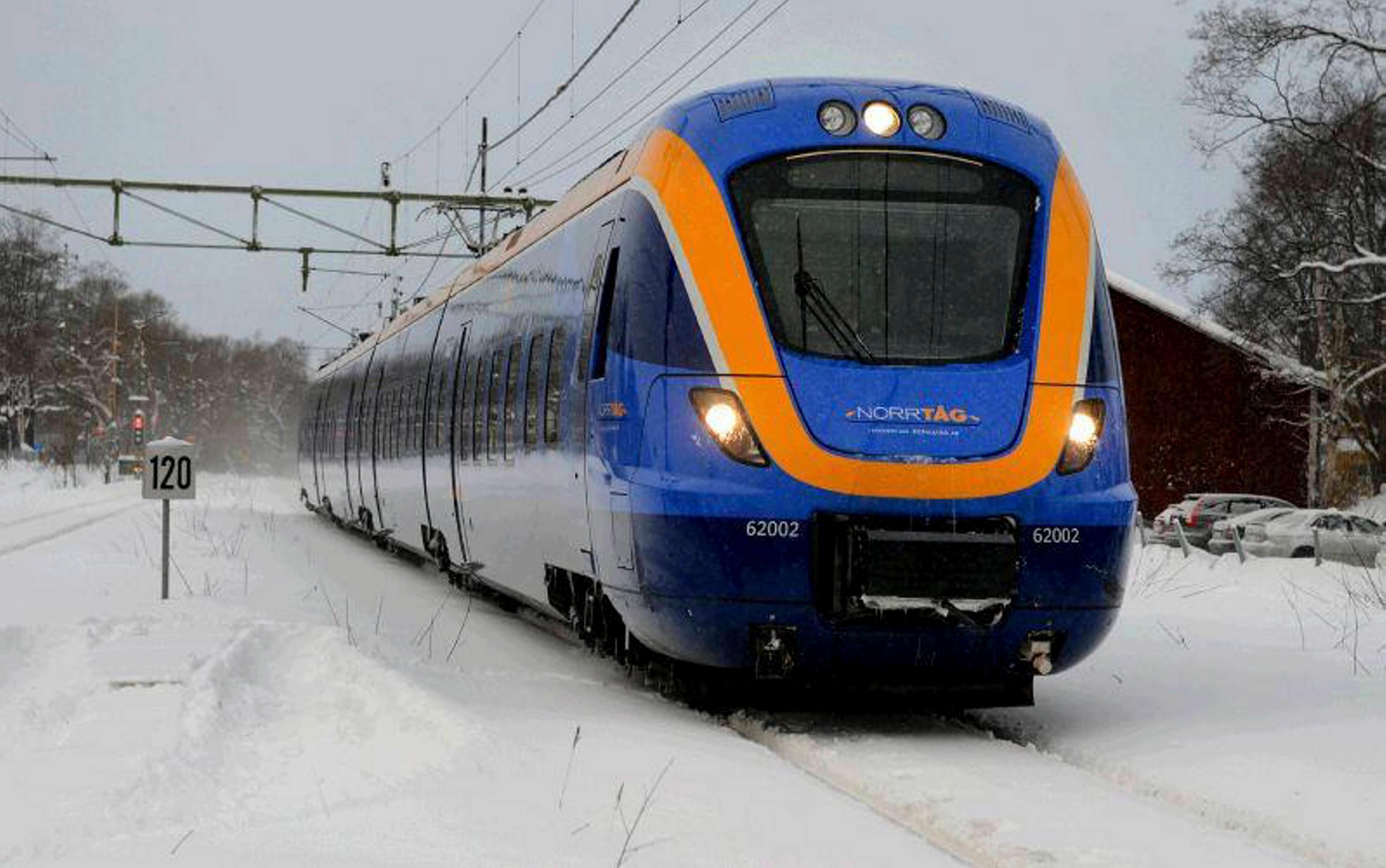 tåg umeå sundsvall