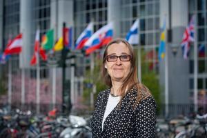 Bodil Valero, Miljöpartiet, Europaparlamentariker.Foto: Fredrik Hjerling