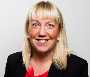 Anna Bohman Enmalm (S), ordförande för demokratiberedningen. Foto: Magnus Grimstedt
