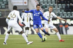 Juanjo Ciércoles och hans GIF Sundsvalls ställs mot AIK under försäsongen. Bild: Erik Mårtensson/TT