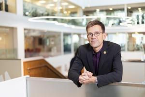 Mattias Goldmann, hållbarhetschef Sweco.