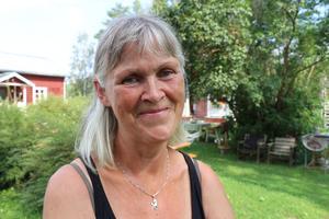 Annalena Ödmark är den som arrangerar gårdslägret på Lindberga gård.
