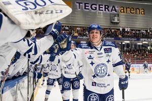 Fredrik Forsberg kommer lånas ut till Karlskoga tills vidare. Foto: Daniel Eriksson (Bildbyrån).