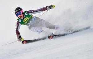 Frida Hansdotter i damernas storslalom vid den alpina världscup premiären i Sölden.Foto: Pontus Lundahl/TT