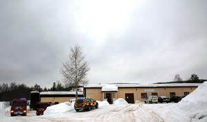 Vävstolsfabriken i Oxberg.