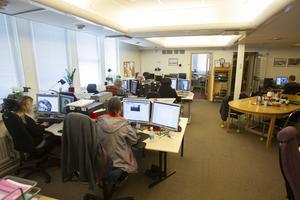 På Medborgarkontoret arbetar idag tre personer genom extratjänster och nio arbetstränar, alla med Dibis.