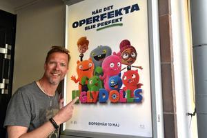 På söndag är det smygpremiär för biofilmen Uglydolls, där Patrik Forslund är Ox.