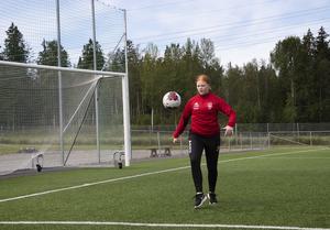 På sommarlovet handlar det mesta om fotboll för Moa Bodell.