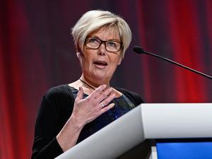 Berit Högman blev ny landshövding.