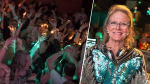 Dj Glorias 50-plusdisco på Publik 4 november 2017. 17 mars 2018 är hon tillbaka – på grund av det höga publiktrycket. Bild: Rex Keijser Addo