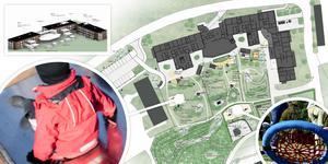 Nu finns de första skisserna på den nya förskoleby som ska byggas på Åsgatan i Ånge.