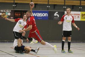 Mathias From gjorde Sala HF:s segermål, 26–25, mot Vallentuna.