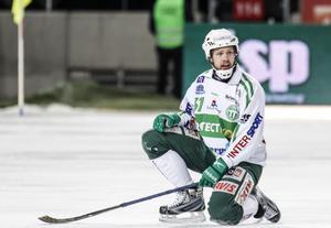 Aksel Örn Ekblom i VSK säsongen 2013/2014. Bild: Pernilla Wahlman / TT