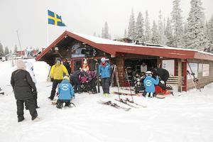 Totalskidskolan som ger funktionshindrade möjlighet att lära sig skidåkning. Arkivbild.