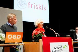 Både Mikael Åsberg och Christina Ravald pekar på de ideella krafterna som starkt bidragande faktorer till att Friskis & Svettis nu prisas.