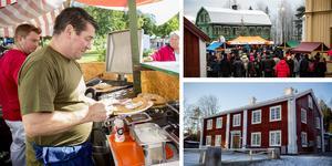 Flera insändare kommenterar Murbergets julmarknads nya inriktning. Foto: Gunnar Stattin och Linnea Hellgren.