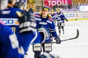 Anthon Eriksson sköt IFK Arbogas enda mål i länsderbyt mot VIK.