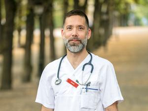 Jonas Ekström lämnar sin tjänst som verksamhetschef för sjukhuset i Sala. Foto: Jonas Norén