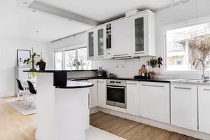 Huset på Nordanby Gärde har sex rum.Foto: PAX