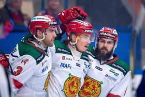 Robin Johansson 2–1-mål väckte Moras, kanske bästa spel, denna säsong. Foto: Jonas Ljungdahl