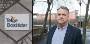 """""""Vi funderar nu på vilka tjänstemän som kan ha sin arbetsplats i våra bostadsområden"""" säger Anders Ydebrink, som är ny ordförande i Telge Hovsjö och Telge bostäder."""