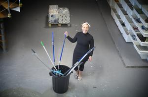 Lanolia städ & service håller till i 600 kvadratmeter stora lokaler i Moraberg.