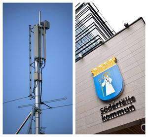 Stadsbyggnadsnämnden har beslutat att ge konsultföretaget Rejlers bygglov för en 36 meter hög mobilmast i Lina Hage. Foto: Fredrik Sandberg/SCANPIX och Jesper Hagel