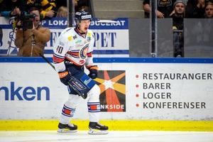 Elias Pettersson sköt Växjö till SM-guld. Bild: Petter Arvidson/Bildbyrån