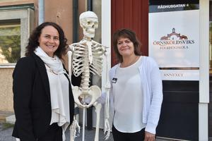 Även skelettet Knota är glad över flytten till det som nu fått namnet Annexet.