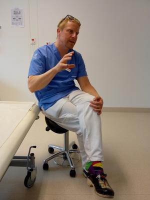 Doktor Mattias Broman. Foto: Sten Widell