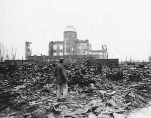 Atombomben i Hiroshima dödade 140 000 människor. Foto: TT/AP