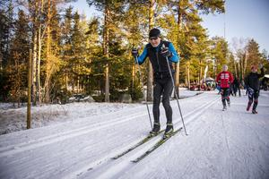 Helmut Kerschbaumer åker gärna skidor flera dagar i veckan.