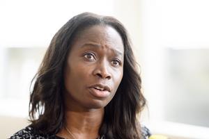 Nyamko Sabuni, partiledare Liberalerna. Foto: TT