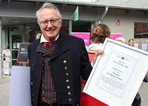Rengsjö hembygdsförening prisades för Årets förening.