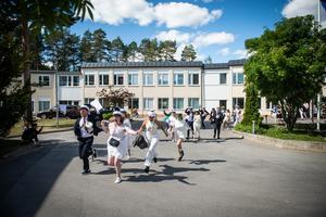 Skvaderns gymnasieskola, studenten 2018.