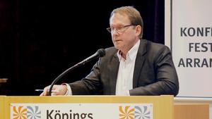 """Roger Eklund (S), kommunalråd, säger att det absolut inte är bra att kommuninvånarna känner otrygghet, men att det inte är otryggare här än i någon annan stad. """"Vi får ta upp trygghetsfrågan i pensionärsrådet igen och lyssna"""", säger Eklund."""