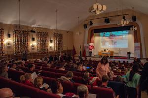 Bänkraderna var nästan fulla på Socialdemokraternas årliga kongress i Borlänge.