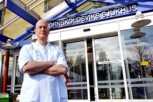 Lars Rocksén, ordförande Ångermanlands läkarförening