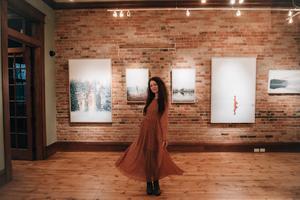 Marlene Nilsens utställning finns just nu att se på ett galleri i Montana. Foto: Marlene Nilsen