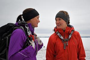 Madeleine Burgström och Emma Bejmar.