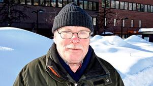 Einar Åkerlund, 71 år, pensionär, Nedre Haga:
