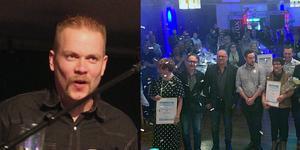 Magnus Undevik och flera driftiga Hedemorabor fick priser på årets företagarfest.