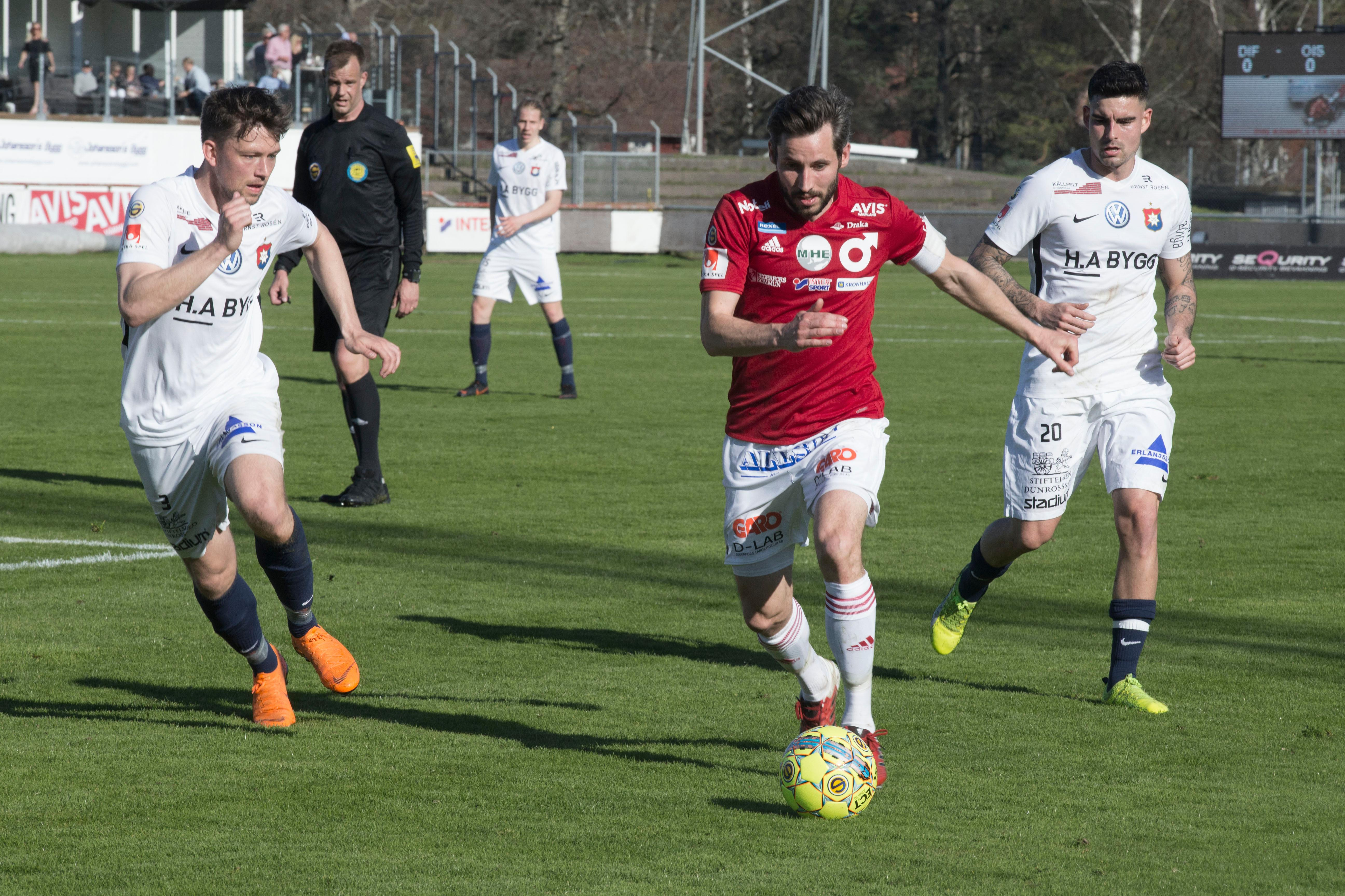 Afc eskilstuna fick en laxa i debuten