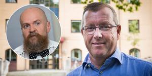 Näringslivschef Hans-Göran Karlsson står bakom bokningen av Alexander Bard till kommunens företagardag.