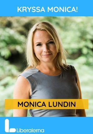 Liberalernas Monica Lundin från Borlänge toppar partiets dalariksdagslista. Foto: Liberalerna.