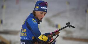 Hanna Öberg var bästa svenska i Oberhof.
