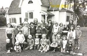 Björnöborg dagkoloni 1977.