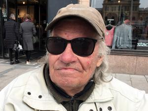 Christer Andersson, 74 år, pensionär, Sundsvall