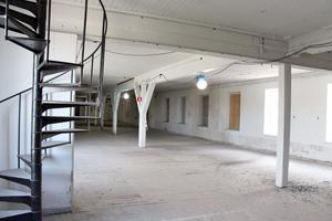 De öppna lokalerna är som gjorda för att inreda många rum på rad.