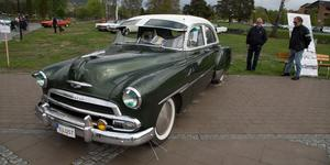 Ungefär 200 bilar ställde ut på Sollefteå Big Meet.